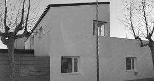 Vistes casa unifamiliar Tall Fusta